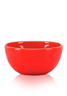 kate spade new york all in good taste Sculpted Scallop Fruit Bowl