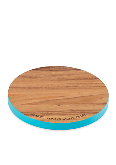 kate spade new york® almost always above board Round Wood Cutting Board