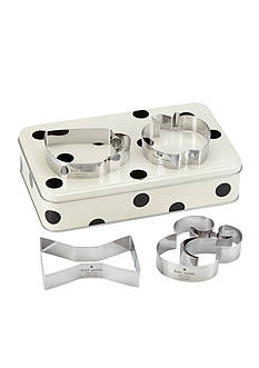 kate spade new york® all in good taste Cookie Cutter & Storage Tin Set