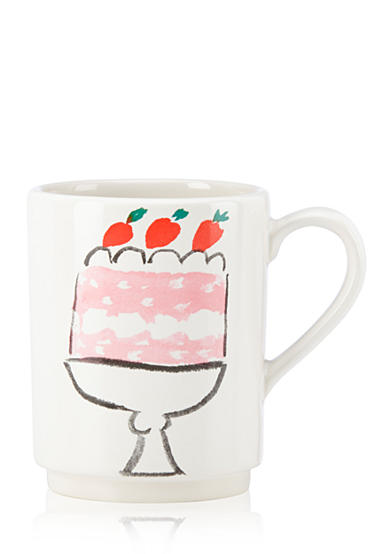 kate spade new york® all in good taste Pretty Pantry Cake Mug