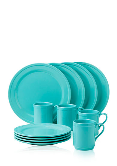 kate spade new york® all in good taste Sculpted Scallop 12-Piece Dinnerware Set