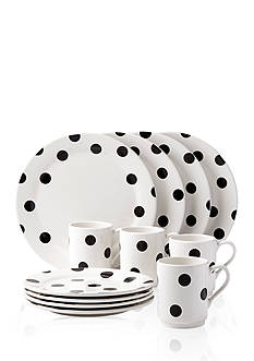 kate spade new york® all in good taste Deco Dot 12-Piece Dinnerware Set