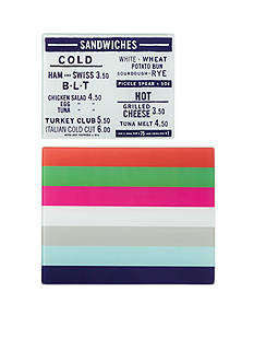 kate spade new york® All In Good Taste Food Prep Boards, Set of 2