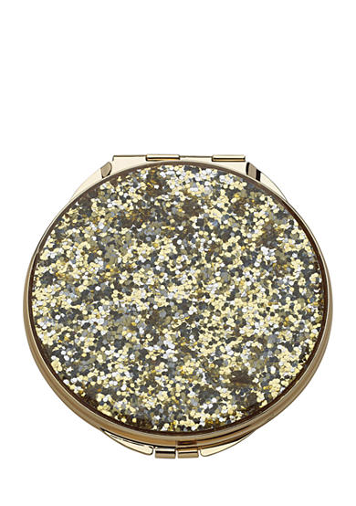 kate spade new york® Gold Simply Sparkle Compact