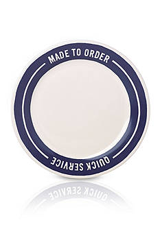 kate spade new york order's up accent plate - MADE TO ORDER