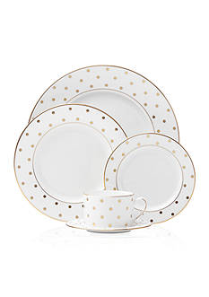 kate spade new york® Larabee Road Gold Dinnerware