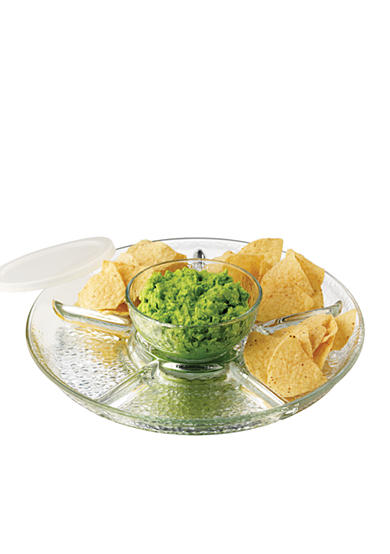 Libbey 3-Piece Frost Chip and Dip Set