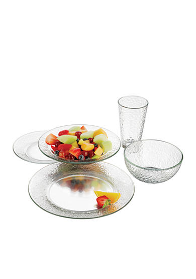 Libbey 20-Piece Frost Dinner Set - Online Only
