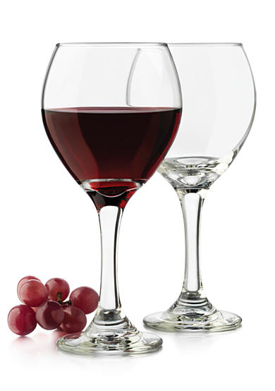 Libbey Classic Set of 4 Red Wine Glasses