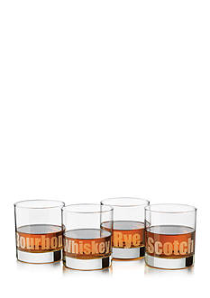 Libbey Perfect Whiskey Deco 4-Piece Set