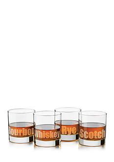 Libbey Perfect Whiskey Deco 4-Piece Set