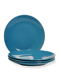 Home Accents® Basic Essentials Solid Color Blue Dinnerware