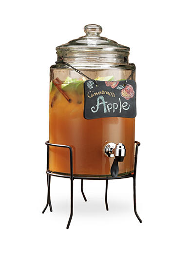 Home Essentials Chalkboard Beverage Dispenser