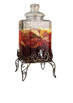 Home Essentials Vintage Scroll Beverage Dispenser