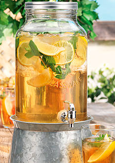 Home Essentials Galvanized Beverage Dispenser