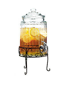 Home Essentials Ribbed Beverage Dispenser