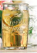 Home Essentials Sweet Tea Set of 4 Highball