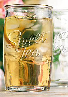 Home Essentials Sweet Tea Set of 4 Highball Glasses