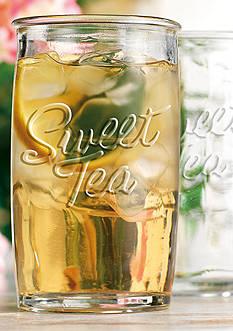 Home Essentials Sweet Tea Set of 4 Highball Glasses