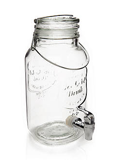 Home Essentials Mason Jar Beverage Dispenser
