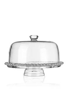 Home Essentials Beaded Glass Cake Dome
