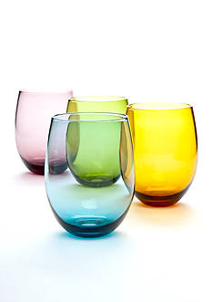 Home Essentials Tuscana Set of 4 Stemless Glasses