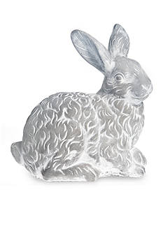 Front Porch 9-in. Embossed Bunny