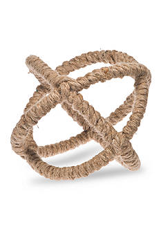 Shoreline 7-in. Rope Wrapped Metal Orb