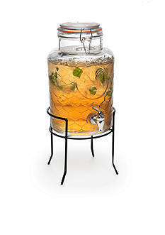 Home Essentials Country Chic Cold Beverage Dispenser