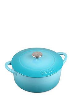 Denby Cook & Dine 4.2-qt. Round Cast Iron Covered Casserole