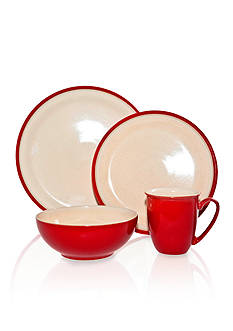 Denby Dine Cherry 4-Piece Place Setting - Online Only<br>