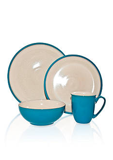 Denby Dine Turquoise 4-Piece Place Setting - Online Only