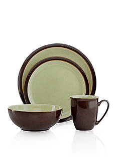 Denby Duets Chestnut & Apple 4-Piece Place Setting - Online Only