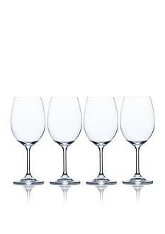 Mikasa Laura Set of 4 White Wine Glasses