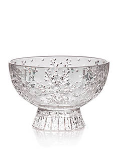 Mikasa Winter Flurries Footed Candy Bowl
