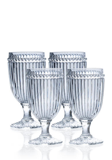Mikasa Italian Countryside Set of 4 Iced Beverage Glasses