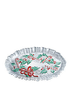 Mikasa Festive Wreath Canape Tray
