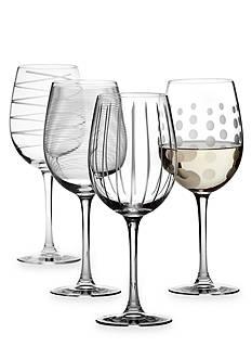 Mikasa Cheers Set of 4 Wine Glasses