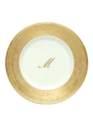 Jay Import Gold Monogram Chargers