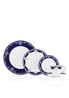 MARCHESA BY LENOX Empire Pearl Indigo Dinnerware