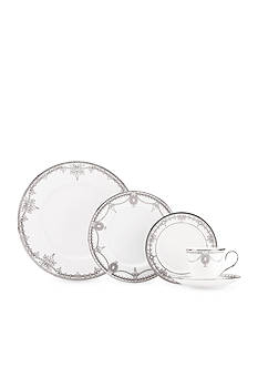 MARCHESA BY LENOX Empire Pearl White 5-Piece Place Setting