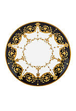 Baroque Night Accent Plate 9-in.