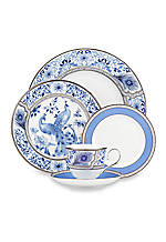 Sapphire Plume 5-Piece Place Setting