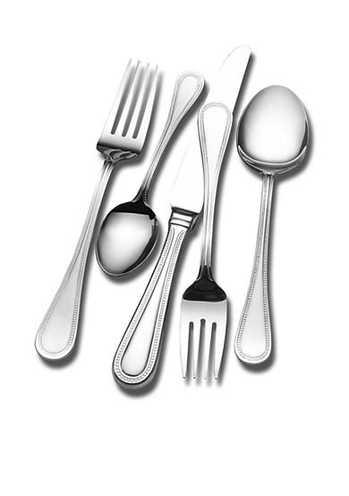 Wallace Continental Bead 45 Piece Flatware Set