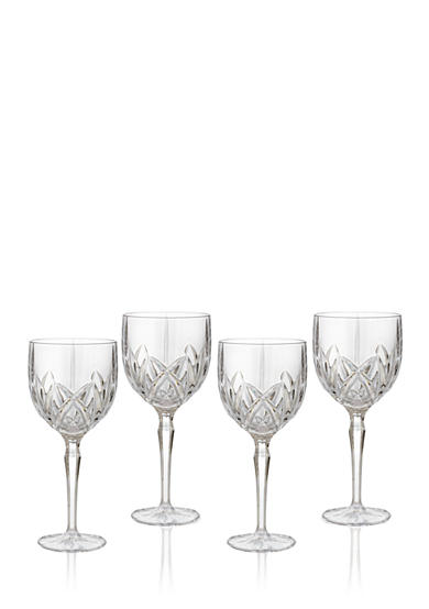 Marquis by Waterford Brookside All Purpose Goblets Set of 4