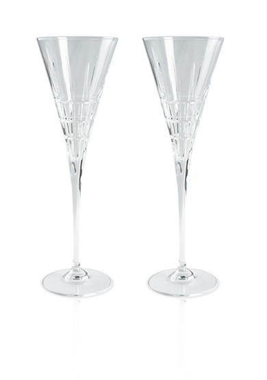 Lauren Ralph Lauren Cocktail Party Set of 2 Champagne Flutes