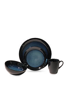 Baum Brothers Evening Tide 16-Piece Dinnerware Set - Online Only