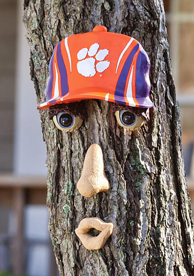 Clemson Tigers Tree Face