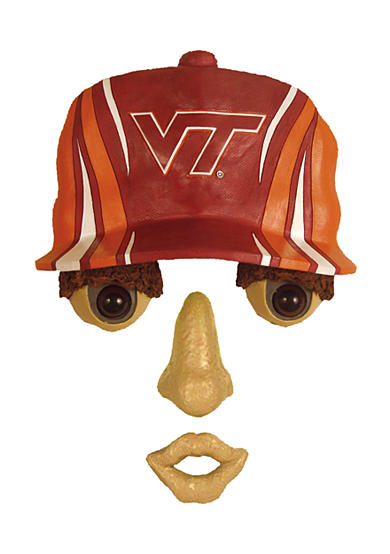Virginia Tech Hokies Tree Face