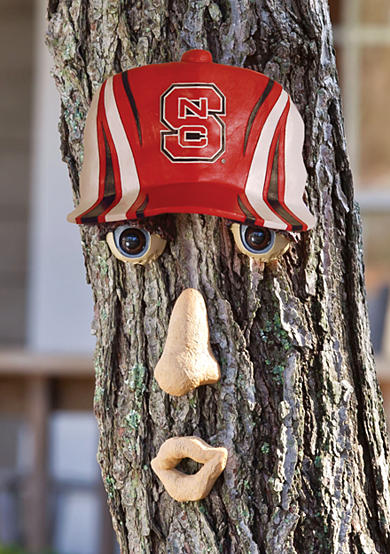 NC State Wolfpack Tree Face